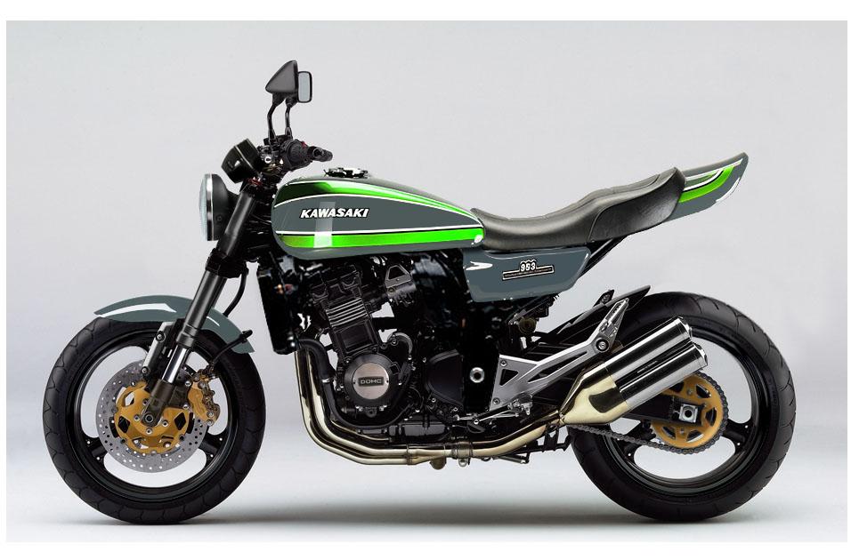 Kawasaki Z1000 Retro